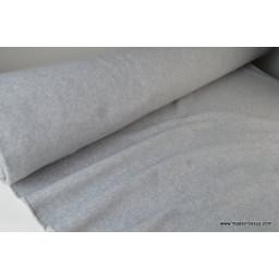 Tissu POLAIRE LAND CHINE coloris Gris 100% PES 150cm 300gr/m²
