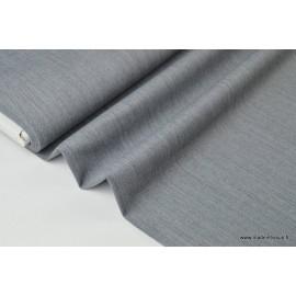 Gabardine de laine coloris gris clair x50cm
