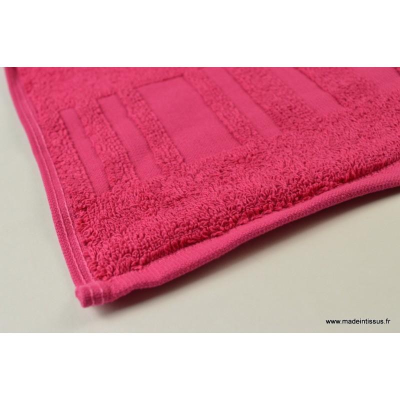 serviette ponge essuie mains framboise 30x50 made in tissus. Black Bedroom Furniture Sets. Home Design Ideas