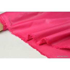 Tissu DOUBLURE taffetas chintz coloris framboise .x 1m