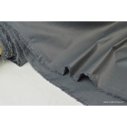 Tissu DOUBLURE taffetas chintz coloris GRIS .x 1m