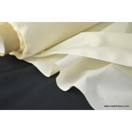Toile à draps coton écru