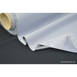 tissu occultant isolant thermique et phonique gris .x 1m