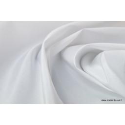 TAFFETAS Ottoman mariage blanc x50cm