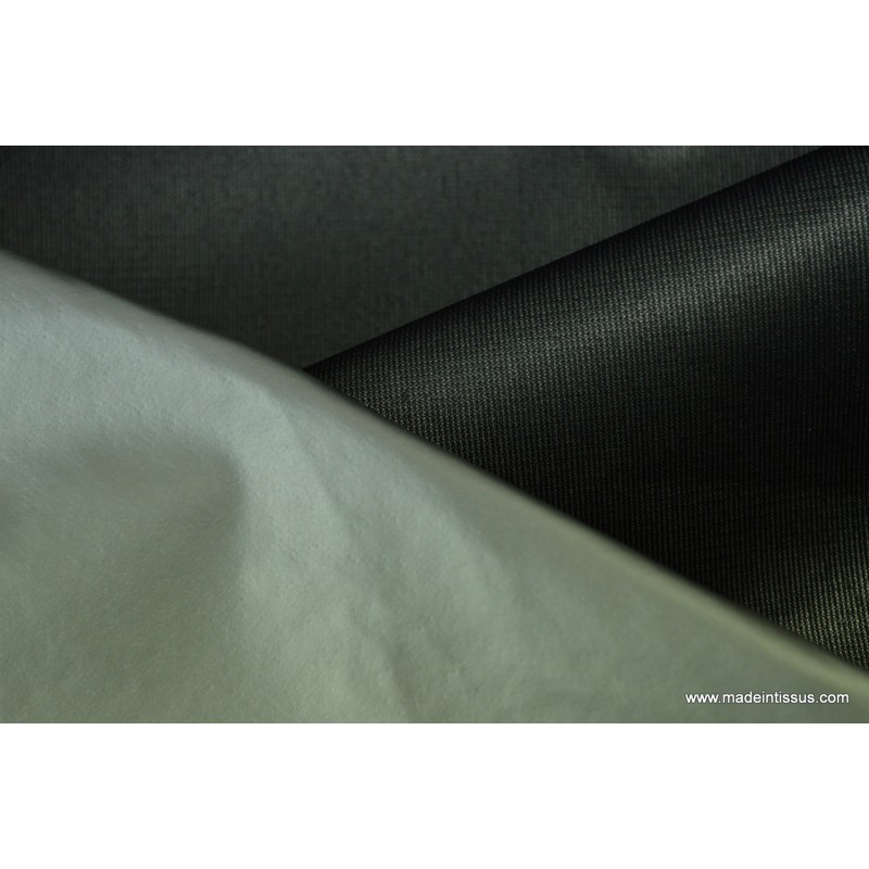 tissu isolant et occultant thermique phonique noir made in tissus. Black Bedroom Furniture Sets. Home Design Ideas