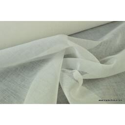 Voile résille ivoire Gerbera pour robe de mariée