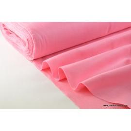 tissu feutrine rose polyester par 50cm