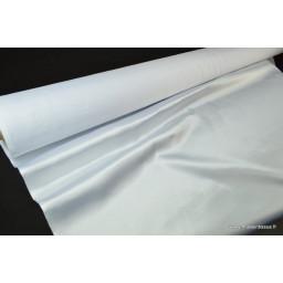 Satin doupion duchesse polyester blanc x50cm