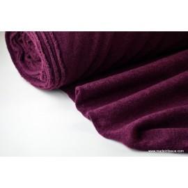 WEEK END coloris prune155 96%PES 4%EA 150cm 210gr/m²