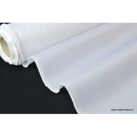 Doublure blanche 100% polyester x50cm