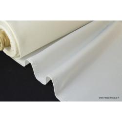 Tissu Doublure ivoire 100% polyester .x1m