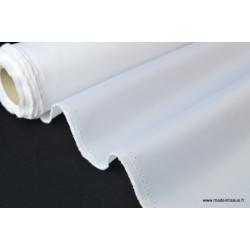 Tissu parapluie Blanc .