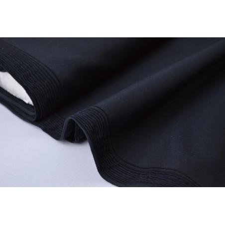 Tissu LYCRA MAT bi elastique coloris noir