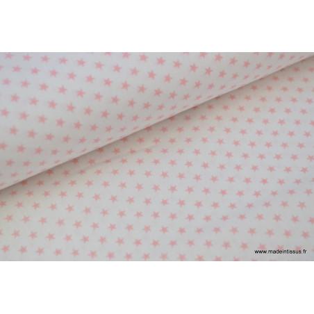 Popeline coton étoiles circus .x1m