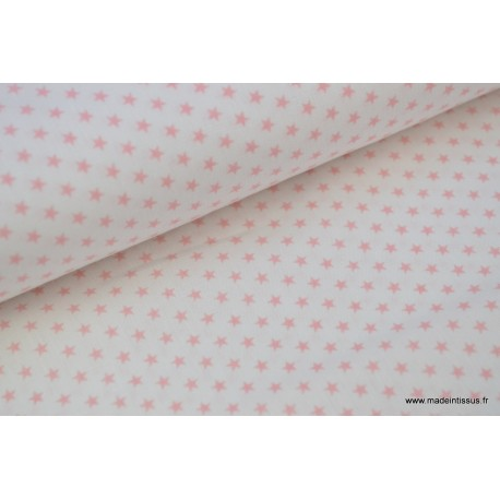 Popeline coton étoiles circus x50cm