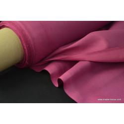 Toile à draps coton parme .x 1m