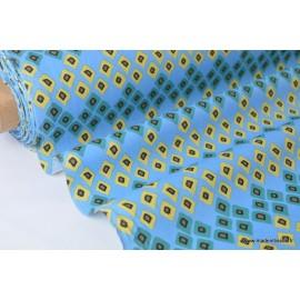 Tissu coton imprimé dozali .x1m
