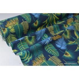Tissu coton imprimé dozali x50cm