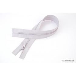 Fermeture ECLAIR non séparable gris 35cm