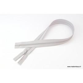 Fermeture ECLAIR non séparable gris 65cm