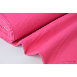 Toile jean stretch coloris rose .x1m