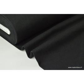 Toile jean stretch coloris noir x50cm