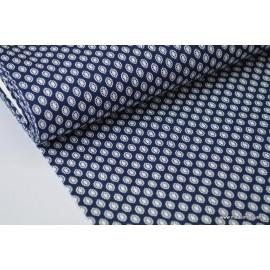 Popeline coton élasthanne provençal .x1m