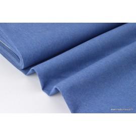 Toile jeans stretch bleu x50cm