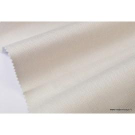 tissu occultant oxford  écru29  x50cm