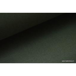 Sergé mi-lourd coton kaki 260gr/m² x50cm