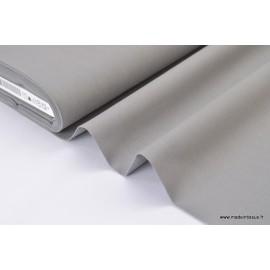 Popeline coton uni gris x50cm