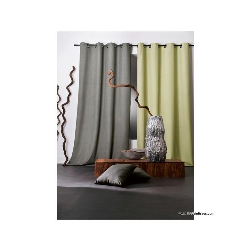 rideau occultant pret poser oxford made in tissus. Black Bedroom Furniture Sets. Home Design Ideas
