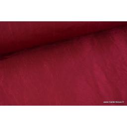 TAFFETAS changeant BORDEAUX x50cm