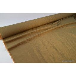TAFFETAS changeant BRONZE x50cm