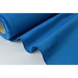 Sergé mi-lourd coton bleu canard 260gr/m² x50cm