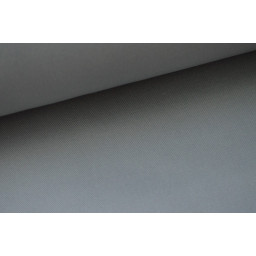 Sergé mi-lourd coton gris 260gr/m² x50cm