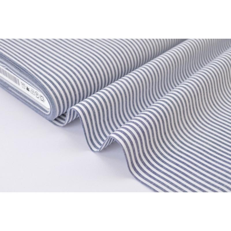 tissu coton pas cher rayures grises et blanches bleu marine et blanc. Black Bedroom Furniture Sets. Home Design Ideas