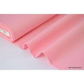 Popeline coton uni ROSE x50cm