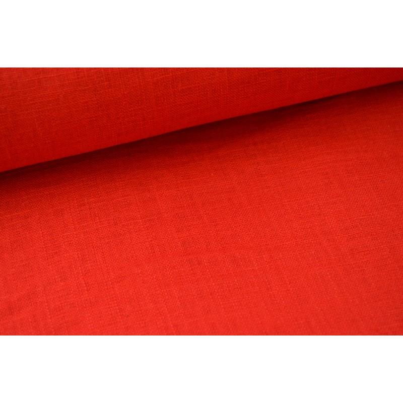 tissu lin rouge pour confection habillement. Black Bedroom Furniture Sets. Home Design Ideas