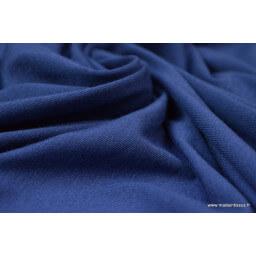 Tissu ultra doux Jersey en viscose Bambou coloris Bleu délavé