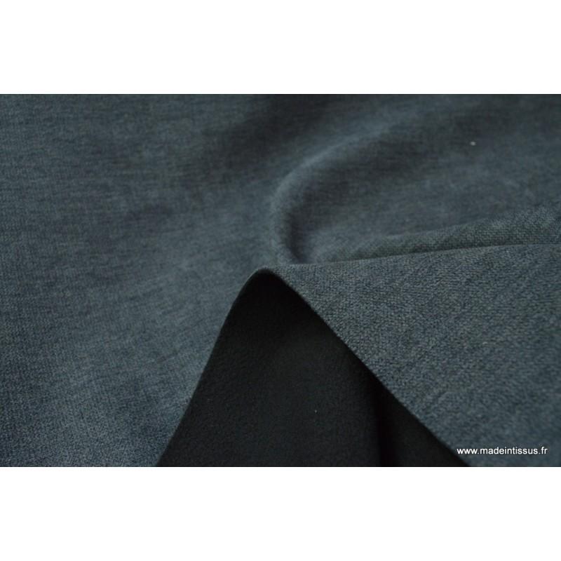 tissu occultant lourd isolant thermique anthracite. Black Bedroom Furniture Sets. Home Design Ideas
