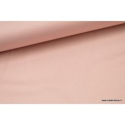 Tissu satin microfibre fluide uni vieux rose  x50cm