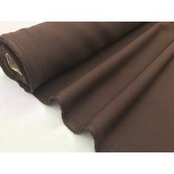 Tissu Burlington polyester marron49 .x1m