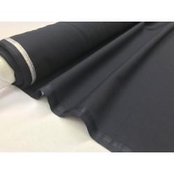 Tissu Toile polyester viscose pantalon marine .x1m