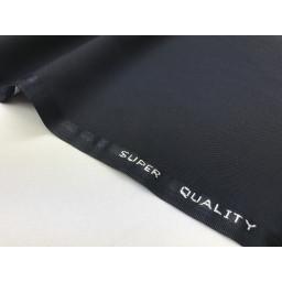 Toile polyester viscose pantalon marine x50cm