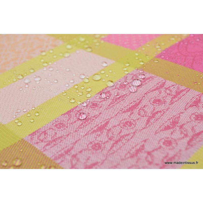 Tissu coton imprim garnier thiebaut mille ladies pivoine nappes x50cm - Nappe garnier thiebaut ...