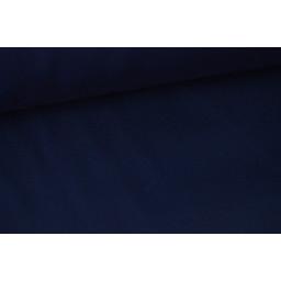 Véritable tissu gabardine marine x50cm