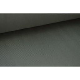 Véritable tissu gabardine gris  x50cm