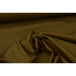 Véritable tissu gabardine marron  x50cm