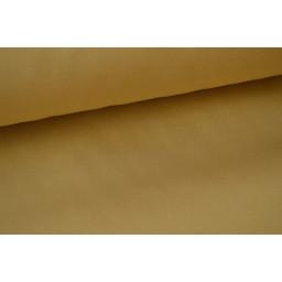 Véritable tissu gabardine sable  x50cm